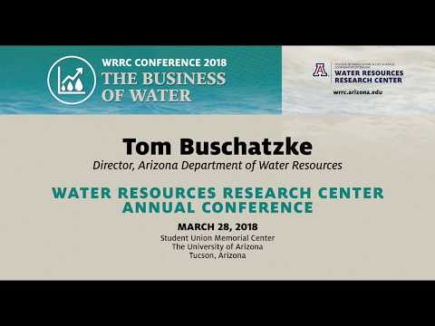 KEYNOTE: THE BUSINESS OF WATER: THE FUTURE – WRRC Conference 2018