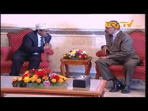ERi-TV, Eritrea: Eritrea Welcomes Somalia President Mohamed Abdullahi Farmajo