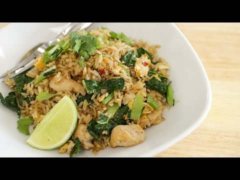 Thai Chicken Fried Rice Recipe ข้าวผัดไก่ – Hot Thai Kitchen