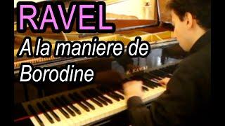 RAVEL - A la maniere de Borodine - Gabriele Tomasello