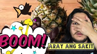 PINEAPPLE GIRL OR ALAMAT NG PINYA VIRAL VIDEO IN FACEBOOK AND YOU TUBE | REACTION VIDEO