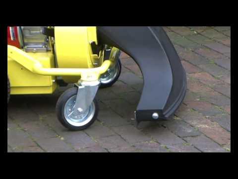 Cramer Outdoor Leaf Litter Vacuum Demonstration