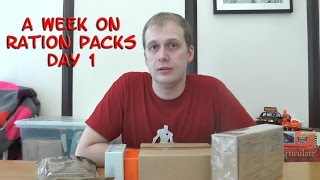 A Week On Ration Packs Day 1