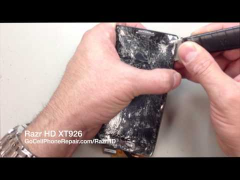 Droid Razr HD XT926 Screen Replacement
