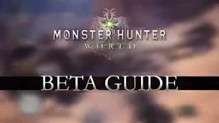 Monster Hunter World I Beta Reveal Game Trailer I Action RPG I PC, XBone, PS4