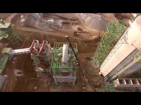 kavçim çimento fabrikası inşaatı samsun  kavak  14.12.2015 dji phantom 3