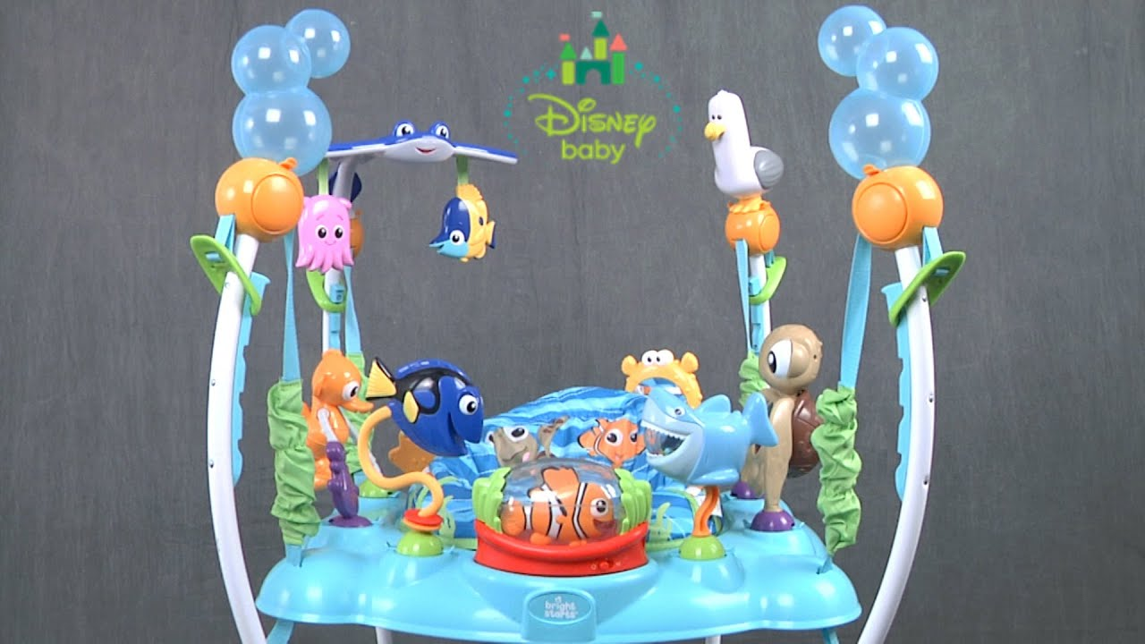 2ffb025a4 Disney Baby Finding Nemo Sea of Activities Jumper from Kids II - YouTube