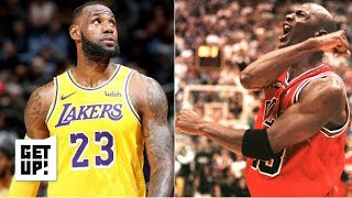 LeBron passing MJ on the all-time scoring list is a historic achievement – Jalen Rose   Get Up!