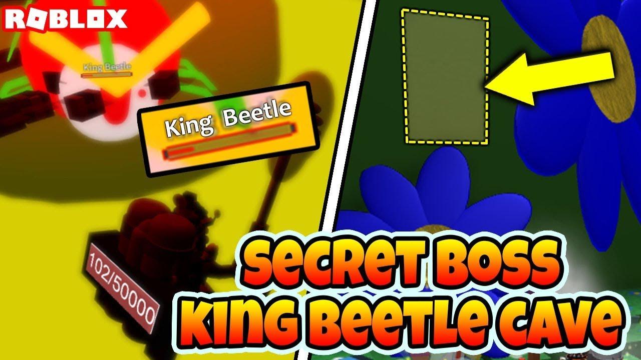 *SECRET* KING BEETLE CAVE (Roblox Bee Swarm Simulator ...