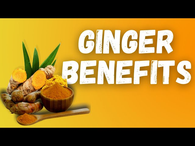 The Health Benefits of GINGER (How healthy is ginger)