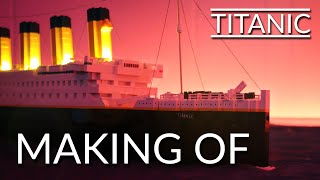 Making of Lego Titanic