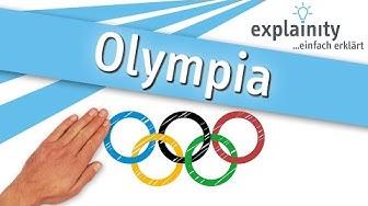 Die Geschichte der Olympischen Spiele einfach erklärt (explainity® Erklärvideo)
