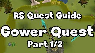 RS: Gower Quest Guide (Part 1/2) - RuneScape thumbnail