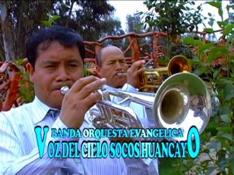 Banda Orquesta Evangelica Voz del Cielo V8 - Victoria En Cristo (Huayno) - Socos - Huancayo - Peru