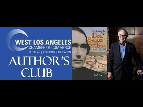 West Los Angeles Author's Club with  Nat  B Read