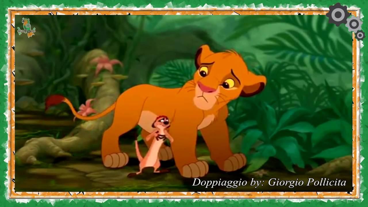 Il re leone hakuna matata toonitalia