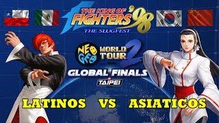 KOF´98 Latinos vs Asiaticos //Bart vs MadKOF//ChengLong vs CapitanSNK//Rpunk vs Xiaohai & Xiaohei