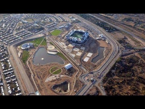 Circuito La Pedrera : Así se ve el circuito de la pedrera desde el aire