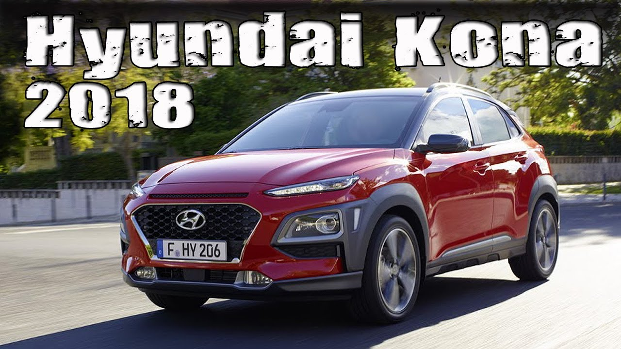 all new 2018 hyundai kona interior and exterior overview youtube. Black Bedroom Furniture Sets. Home Design Ideas