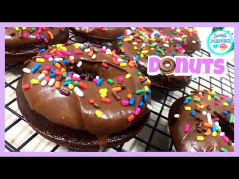Chocolate Donuts | Doughnuts | Sweet Maniacs 💜