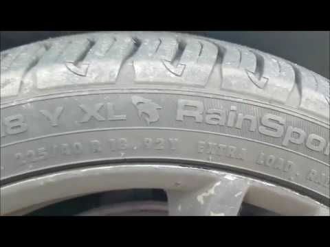 uniroyal rainsport 3 review the best tyre for uk road weather conditions youtube. Black Bedroom Furniture Sets. Home Design Ideas