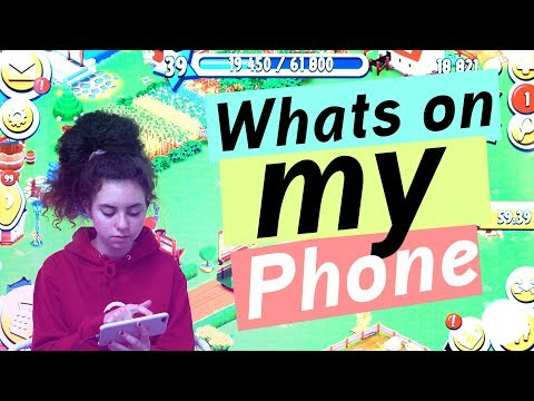 Whats on my Phone / Marleens IPhone 8 Plus / kinder_sein / frau_sein