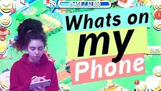 Whats on my Phone Marleens IPhone 8 Plus kindersein frausein