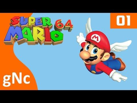 SUPER MARIO 64 - Virtual Console - WiiU - Part 1 (No commentary)