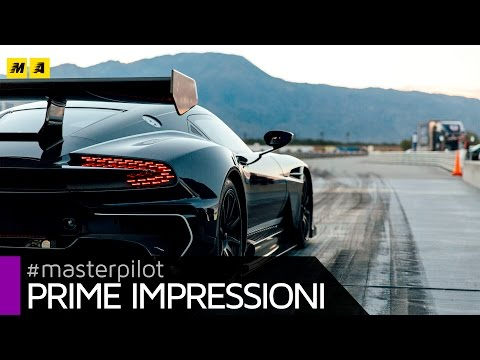 $2.3m Aston Martin Vulcan - fly by Ben Collins @ Michelin PS4S Palm Springs | Prime impressioni