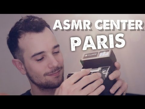 ASMR CENTER in PARIS *TINGLES*  (english role play)