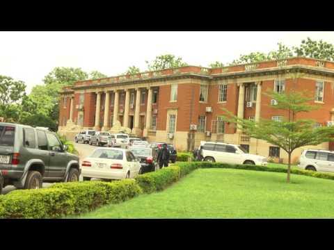 UPND leader Hakainde Hichilema and his deputy Geoffrey Bwalya petition