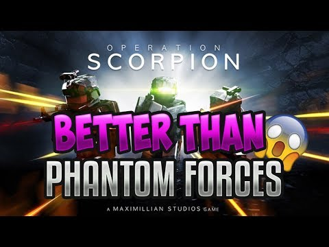 THIS GAME WILL SURPASS PHANTOM FORCES??!!! | Playing Operation Scorpion Tactical Shooter (ROBLOX)