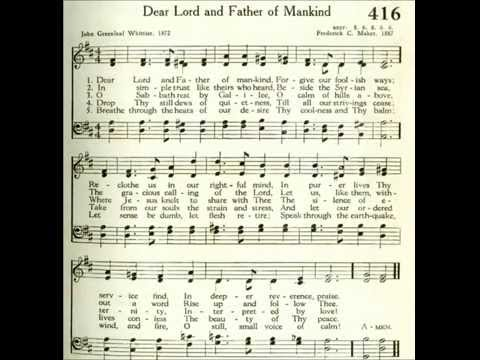 Dear Lord and Father of Mankind (Rest)