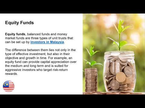 Types of Investment Funds in Malaysia