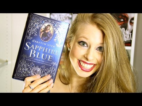 SAPPHIRE BLUE BY KERSTIN GIER | Booktalk With XTINEMAY