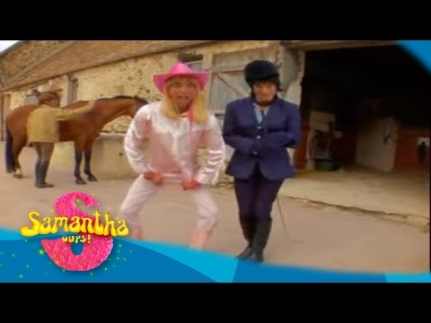 Samantha Oups ! L'équitation - Au gîte