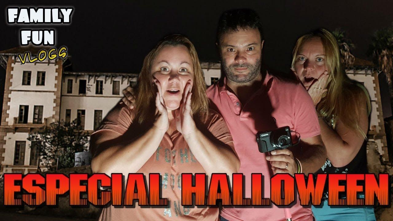 Especial Halloween Visitamos Un Hospital Abandonado De Noche Youtube