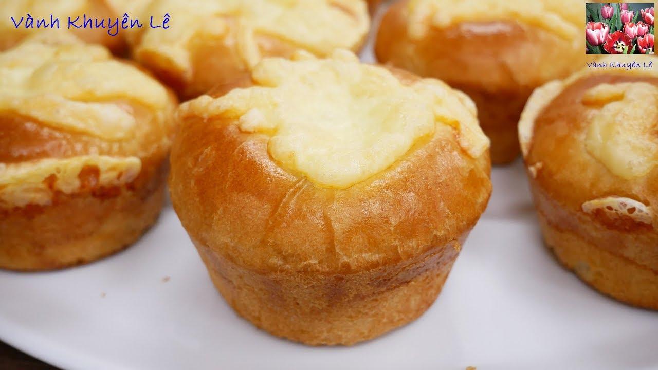 BÁNH MÌ – Cách làm Bánh Mì ngọt nhân Mặn xốp mềm thơm ngon tuyệt vời by Vanh Khuyen