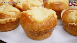 Bánh Mì - Cách làm Bánh Mì Việt Nam nhân Mặn xốp mềm thơm ngon tuyệt vời by Vanh Khuyen