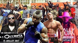 Le Boxeur YOURI KALENGA et Les Combattants Répond Le Staff FALLY IPUPA, Pas de CONCERT à PARIS