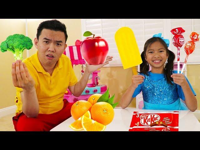 Yes Yes Vegetables Song | Wendy Eat Fruits & Vegetables Nursery Rhymes Kids Songs