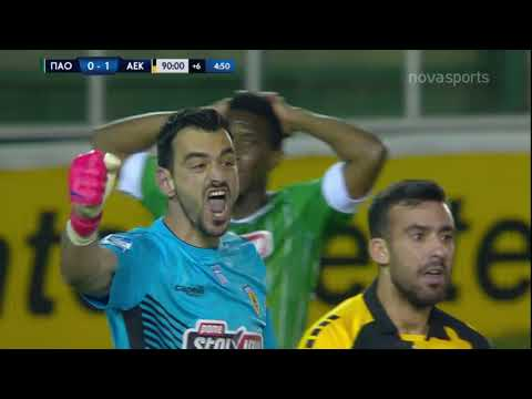 Panathinaikos AEK Goals And Highlights
