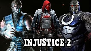 Injustice 2 Character Updates And What Characters Will Be In Injustice 2? - Injustice 2