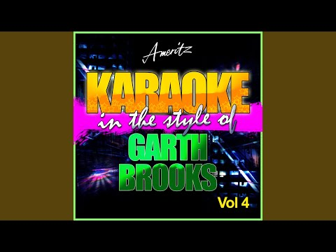 Same Old Story (In the Style of Garth Brooks) (Karaoke Version)