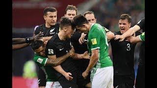 Mexico vs New Zealand 2-2 - Fight Highlights 2017 HD