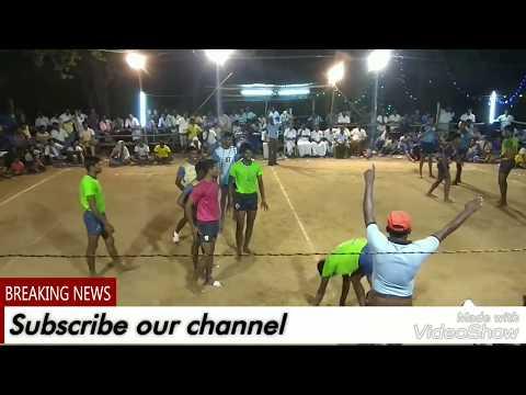 TRICHY District vs PUDUKKOTTAI District final in pudukkottai Junior kabaddi match