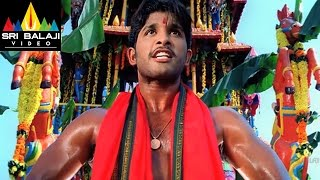 Bunny Movie Allu Arjun Powerful Action Scene | Allu Arjun, Gouri Mumjal | Sri Balaji Video