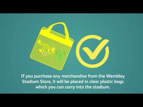 4b3b1c0862 Restricted Bag Policy. Club Wembley