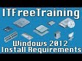 Windows 2012 Install Requirements