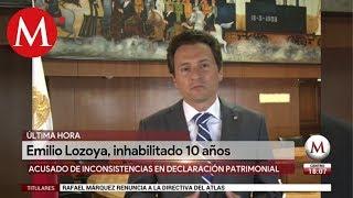 SFP inhabilita a Emilio Lozoya, ex director de Pemex